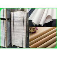 Buy cheap Width 60 / 90cm Good ink absorption no burrs 45gsm news paper in sheet or ream from wholesalers