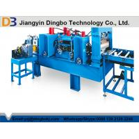 High Efficiency Multi PunchingCable Tray Manufacturing Machine 45 Degree Cutting