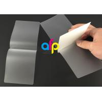 Buy cheap Card Membrane Clear Laminating Film / Pouch Laminating Film with Different from wholesalers
