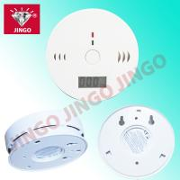 Quality Battery powered auotmatic CO (carbon monoxide) gas detector with sounder for sale