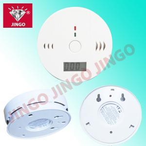 Quality Fire alarm CO (carbon monoxide) sensor gas detector with sounder alarm for sale