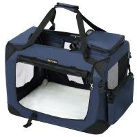Quality Transport Stylish Songmics Pet Carrier Robust Crate Shape Keep Stable Durable for sale
