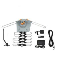 China Super High Gain Uhf Outdoor Directional Antenna 150 Miles 360 Turning Degree on sale