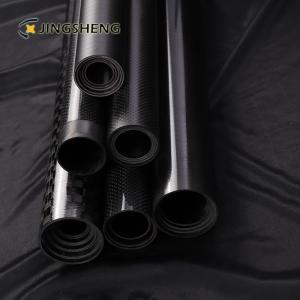 Quality 3 Inch 3k Fiberglass Mast Telescopic Carbon Fiber Tube for sale