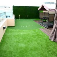 Quality Safe Soft Synthetic Playground Turf Flat Shape UV Proof School Landscaping for sale