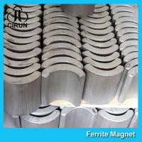 Quality 360 380 540 550 775 Strong Ferrite Arc Magnet for EPS Motor Customized Size for sale
