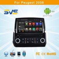 Quality Android 4.4 car dvd player GPS navigation for Peugeot 2008 2014 car audio bluetooth, usb for sale