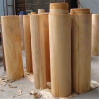 Quality Precise Cutting Beech Veneer Sheets , Natural Beech Veneer Customized Size for sale
