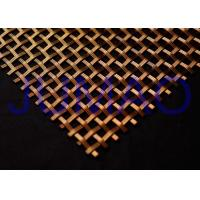 Quality Customized Decorative Wire Mesh Cabinet Inserts Smaller Gauge Crimped Wire for sale