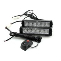 "Buy cheap 6.5"" grill 12 LEDs strobe light from wholesalers"