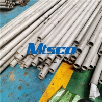 Quality ASTM A789 UNS S31803 PED ISO Duplex Stainless Steel Tube for sale