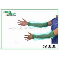 Quality Free Size Disposable PE Oversleeves For Protecting Arm for sale
