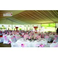Quality Luxury Outdoor Wedding Tents With Aluminum Frame 20 Years Life Span for sale