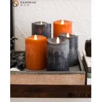 Buy cheap Flame LED wax fall Candle of natural beauty and beautiful autumn colors from wholesalers