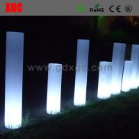 Quality Plastic  Light up multi colors round  LED  Decorative Furniture for outdoor for sale