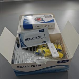Quality CE TUV Return Staff Diagnostic IgG IgM Combo Test Kit for sale
