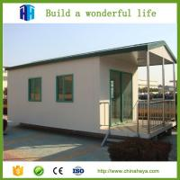 Quality Popular 3 bedroom prefab modular home prefabricated steel house 71.58 m2 plans for sale