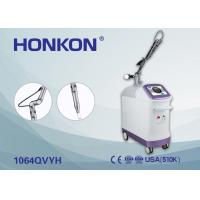 Quality EQ Q Switched Nd Yag Laser Machine For Pigmentation / Tattoo Removal Pain Free for sale