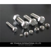 Quality DIN titanium anchor bolt/bolts and nuts/wheels bolts titanium ti 6al 4v/motorcycle equip for sale