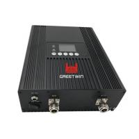 Buy cheap 65dB / 17dBm WCDMA Signal Booster With LCD Screen Support Any Cellular Devices from wholesalers