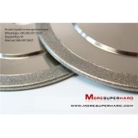 Buy cheap Electroplated diamond grinding wheel for non-ferrous industry application miya from wholesalers
