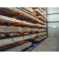 Quality Warehouse Cantilever Racking Systems Both Side for Aluminum Pipe for sale