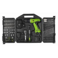 Quality 78 Piece Combo 18V DIY Cordless Drill Sets with Blow Plastic Carrier / Drills Bits / Sockets for sale