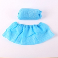 Quality 60cm Surgical Non Woven Medical Shoe Covers SF EN14126 for sale