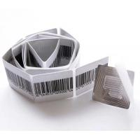 China 40*40mm Anti Theft Sticker Eas Soft label RF 8.2MHz Stickers Label For Garment Barcode Eas RF Sensor Sticker-40mm*40mm on sale