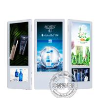China Indoor LCD Elevator Advertising Screen Display Wall Mounted HD 18.5 10 Inch Dual Screen on sale