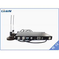 Quality H.264 / MPEG -2 BNC Wireless COFDM Receiver for video , Rack Mounted for sale