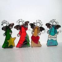 China Colorful Angel Candle Holders in Different Designs on sale