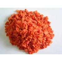 Buy cheap Low-sugar Dedydrated/dried Carrot Cubes/granules from wholesalers