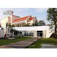 Quality Tear Resistant Luxury Outdoor Party Tents 20x50m With Aluminum Frame for sale