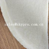 Quality Anti-slip white natural rubber sheet crepe sheet for shoe sole for sale