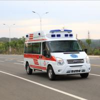 China Mobile Prevention SPV Special Purpose Vehicle ICU Guardianship Type Ambulance With Ventilator on sale