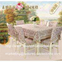 Quality Where to find table linens manufacturer for custom tablecloths and chair covers? for sale