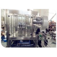 China Carbonated Beverage Filling Machine / Beer Filling Machine 4000p/H - 6000p/H Capacity on sale