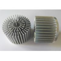 China Cold Forged  LED Aluminum Heat Sink With Customized Threaded Holes on sale