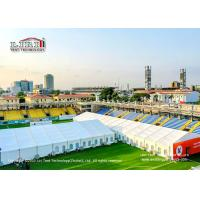 Quality Outdoor Protect Public Health Emergency Medical Tents Flame Retardant To DIN4102 B1 M2 for sale