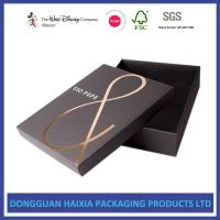 Quality Foil Stamping Christmas Gift Boxes With Lids Recyclable Paper Set Up Boxes for sale