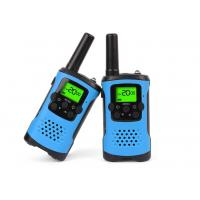 Quality Durable Dual Band Kids Walkie Talkie Blue Color With Noise Cancelling Function for sale
