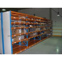 Quality 7 Level Stainless Steel Shelving With Side Panel Blue / Orange / Grey Color for sale
