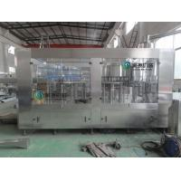 Water Bottling Equipment 3 In 1 Bottle Filling Equipment For Plastic Barrel