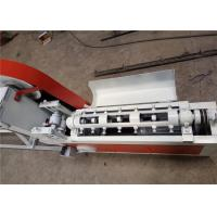 Quality Smooth Incision Steel Wire Straightening Cutting Machine , Cold Wire Drawing Rebar Straightening Machine for sale