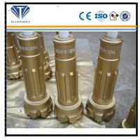Gold flat spehircal 6 inch DTH drilling  tools of SD6 drill bit 165 mm