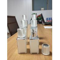 Quality 15ml 30ml 50ml pearl white luxury cosmetic square acrylic bottle cosmetic for sale