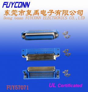 Quality Champ Centronic Connectors, 36 Pin Male Right Angle PCB Connector for sale
