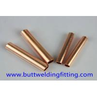 Buy cheap 70/30 Copper Nickel Tube , Seamless Straight Copper Pipe For Water Heater from wholesalers