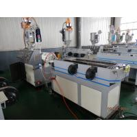 Buy PVC Single Wall Corrugated Pipe Machine Plastic Extrusion Lines With High Speed at wholesale prices